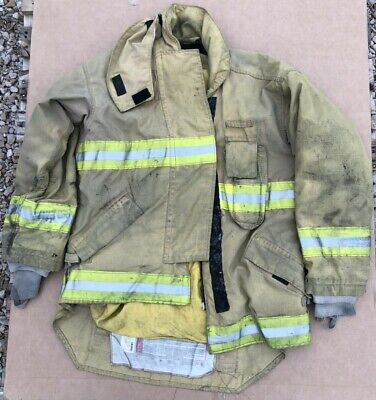 Morning Pride Turnout Bunker Coat Fire Fighting Firefighter Gear 50 X 35