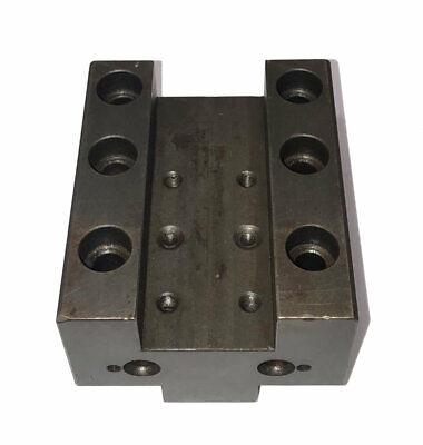 Daewoo Doosan Cnc Od Turret Tool Holder Block W 40mm Locator Key
