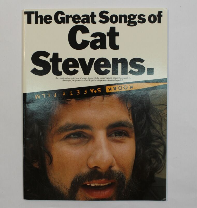 Great Songs of Cat Stevens Rock Sheet Music Song Book Notes Piano Guitar