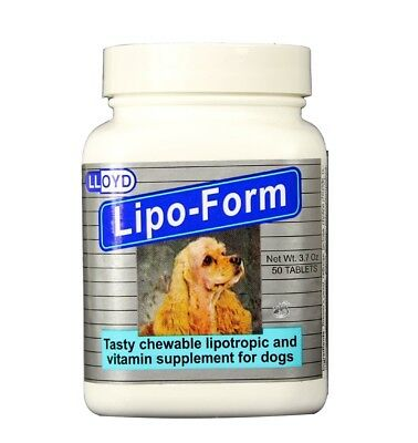 Lipo Form - Lipo-Form Chewable Tablets (50 count)