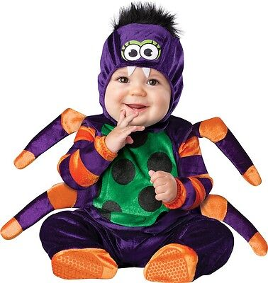 Baby Boys Girls Spider Animal Halloween Fancy Dress Costume Outfit 0-24 months (Spider Girl Baby Costume)