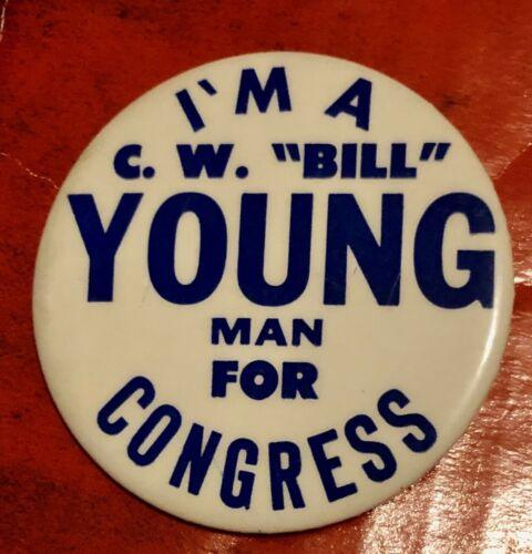 C W Bill Young Republican Congressman Early Badge Pinellas County Florida