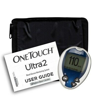 One Touch Ultra 2 Meter, Manual and Generic Case