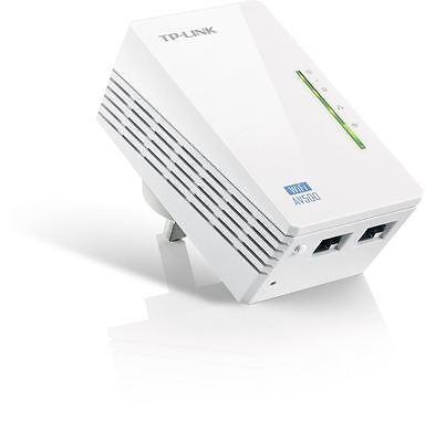TP-LINK TL-WPA4220 AV500 Powerline 300M Wi-Fi Extender Wi-Fi Booster Hotspot