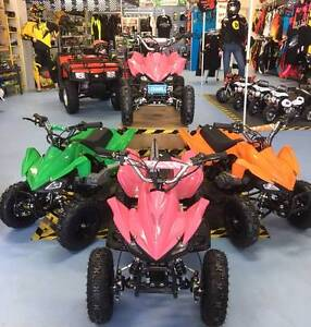 NEW ELECTRIC START/STOP  49cc Quad Bike SAFETY PLUS!!!!! Canning Vale Canning Area Preview