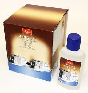 10 x melitta anti calc liquid desaler 250ml bottle bulk order mel6638320. Black Bedroom Furniture Sets. Home Design Ideas