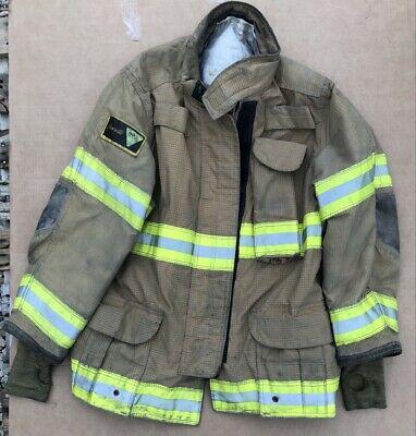 Janesville Isodri Turnout Bunker Coat Fire Fighting Firefighter Gear 44 X 32