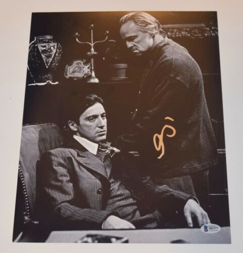 Al Pacino Signed Autographed 11x14 Photo The Godfather Beckett BAS COA