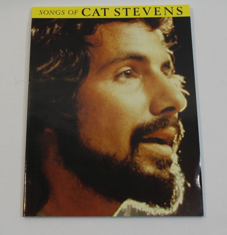 Songs of Cat Stevens Rock Sheet Music Song Book Notes Piano Guitar