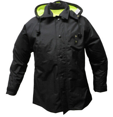Solar 1 Clothing High Visibility Reversible Police Rain Jacket RRS2