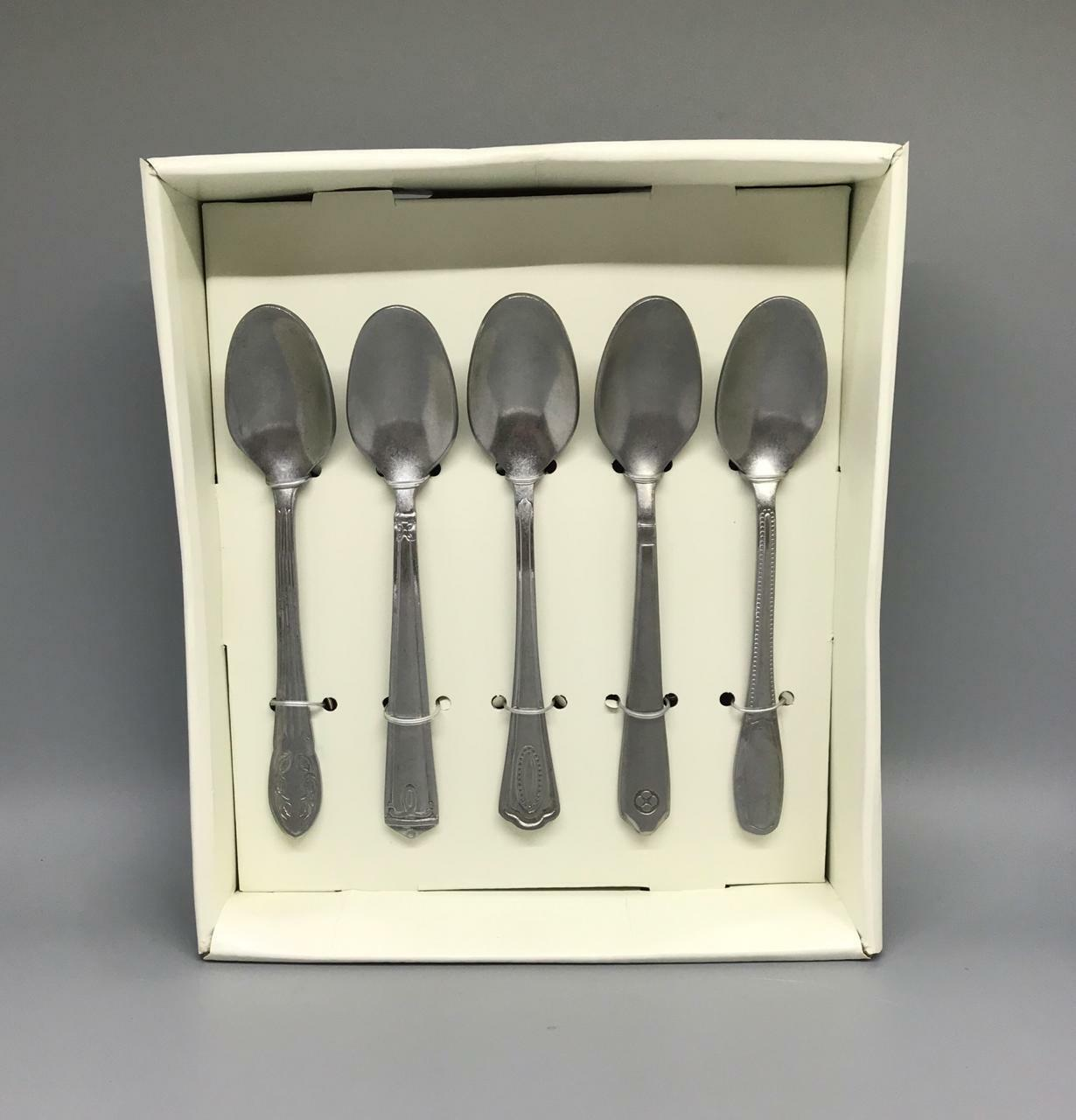 Pack of 10 Spoons Set Antique Finish Stainless