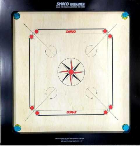 Synco Tournament Carrom Board 20 mm