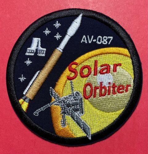 SOLAR ORBITER AV-087 ATLAS V ULA USAF NASA CLOTH BACK PATCH