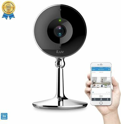 mySight2K by iLuv, Wi-Fi Cloud-Based 2K HD Video Camera for Home and Business (Home Base Video)