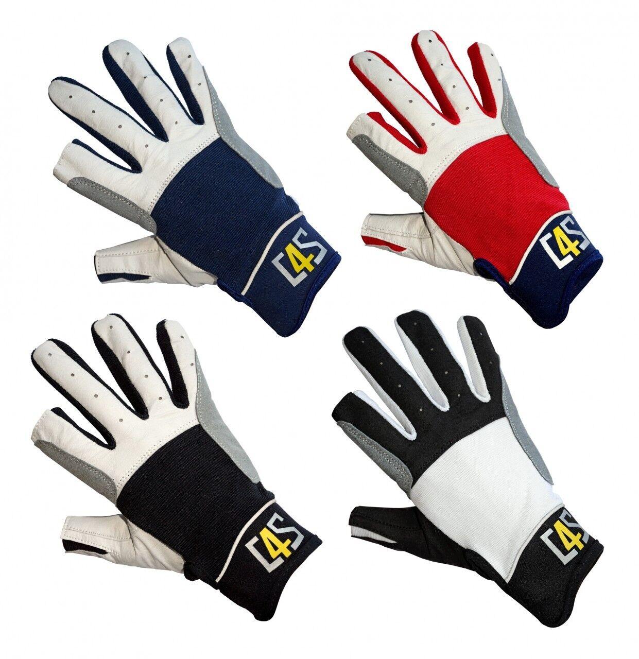 crazy4sailing C4S Segelhandschuhe Cruising - 2 Finger frei - Handschuhe Segeln