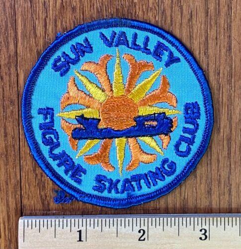 Vintage Patch - Sun Valley Figure Skating Club Idaho