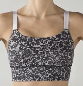 ❤️ LULULEMON LACEY BRA TOP! THICK WAIST BAND! ADJUSTABLE STRAPS!