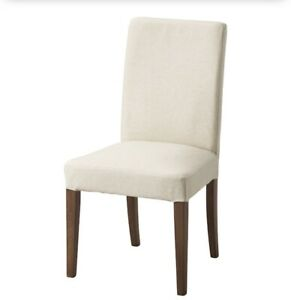 Six IKEA Hendriksdal Dining Chairs