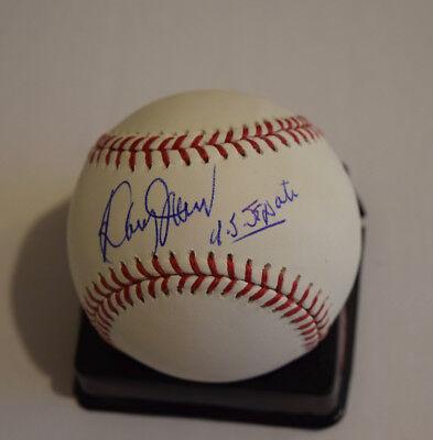 Doug Jones Signed Autograph Rawlings MLB Baseball Alabama Senator COA