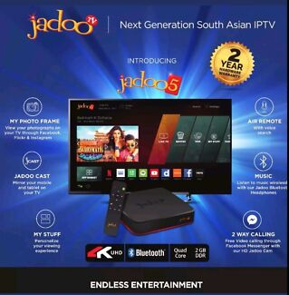 JADOO 5 HD 4K Technology Latest 2017 Free delivery and Set up.