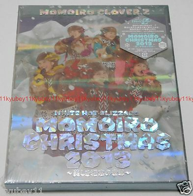 New Momoiro Clover Z WHITE HOT BLIZZARD MOMOIRO CHRISTMAS 2013 2 Blu-ray Japan