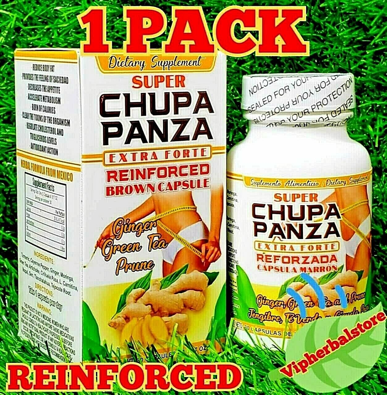 super chupa panza extra forte reinforced brown