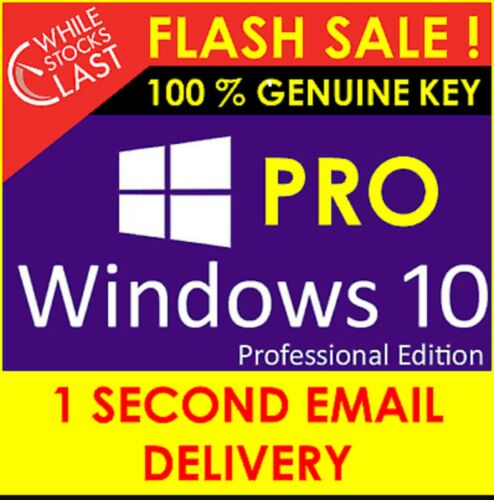 🌟WIN 10 PRO✨32/64 BIT KEY🌟FULL🔑VERSION✅ACTIVATION KEY🌟