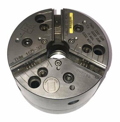 6 165mm Schunk Rota Thw 165-37 Quick Change Power Lathe Chuck A2-6 Mount