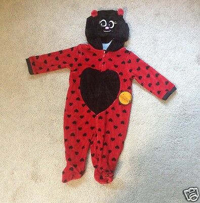 🎃🎃🎃 NEW HALLOWEEN LADYBUG  COSTUME BABY SIZE: 0-3 MONTHS - Infant Halloween Costume 0-3 Months
