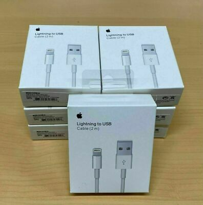 Cable Lightning Original 100% Apple Carga MD819 2m *Caja Retail* iPhone 6s...
