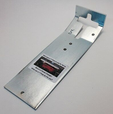 T-Post Mounting Bracket 3 Pack  Great For Bird Feeders,Shelving  And Bird House