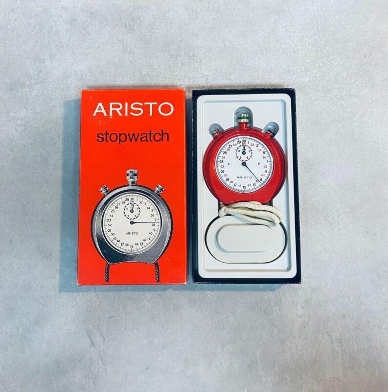 1970s Vintage Aristo Stopwatch Ref Number 414 in Original Package