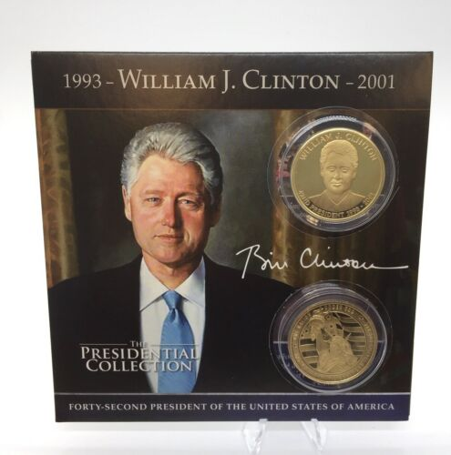 Bill Clinton Presidential Commemorative Coin Collection
