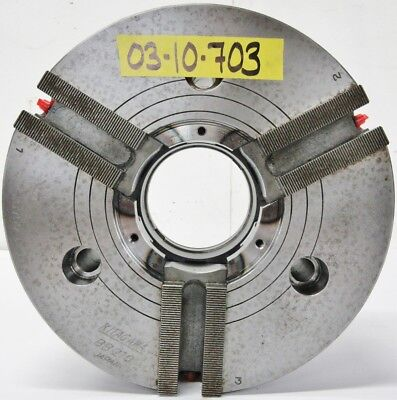 Kitagawa 10 3 Jaw Open Center Power Chuck A2-8 Mount Bb210