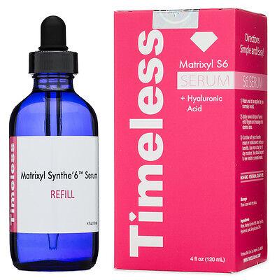 Timeless Matrixyl Synthe6 Serum   Hyaluronic Acid 4 Oz Refill Anti Wrinkle