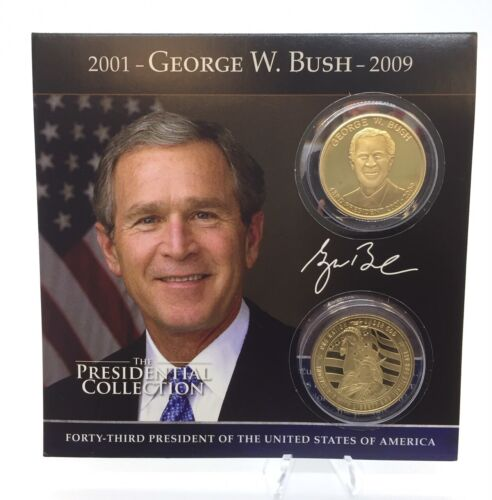 George W Bush Presidential Commemorative Coin Collection