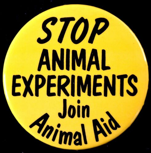 STOP ANIMAL EXPERIMENTS 1990