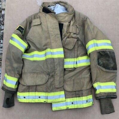 Janesville Isodri Turnout Bunker Coat Fire Fighting Firefighter Gear 46 X 32