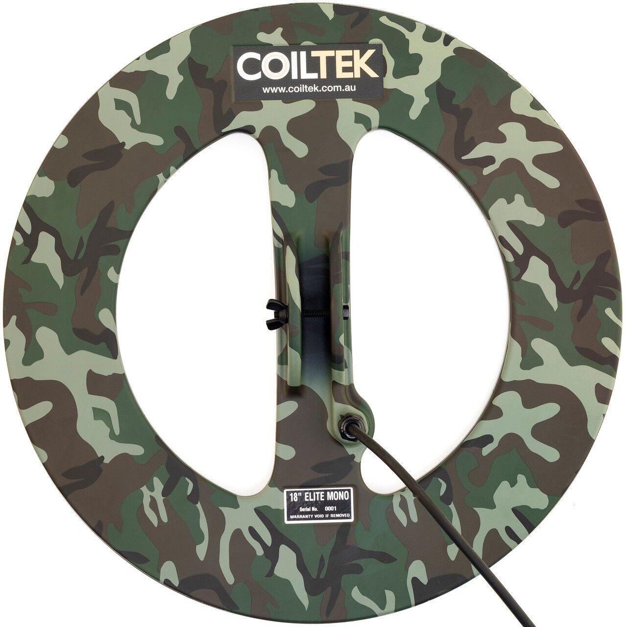 Coiltek 18-inch Round Mono Elite Searchcoil for Minelab SD, GP or GPX series