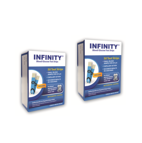 Infinity 100 Test Strips Expire 6/18 DIABETIC Blood Glucose