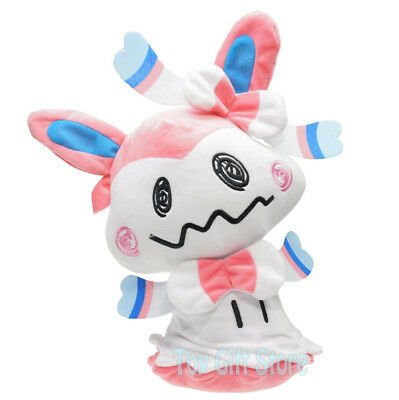 Sylveon Cosplay Mimikyu 16  Poke Sun Moon Plush Doll Stuffed Toy