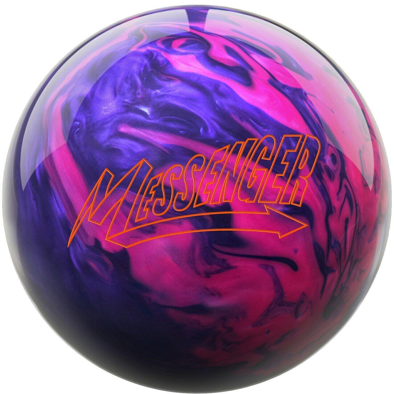Columbia 300 Messenger Bowling Ball Black Gold NIB 1st Quality
