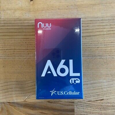 Android Phone - Nuu Mobile A6L-C 8GB GSM Unlocked Smartphone