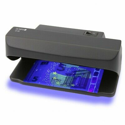 Olympia 585 Geldscheinprüfer Geldscheinprüfgerät Geldprüfer cashtester UV Lampe