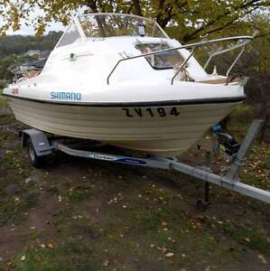 4.5m Swift craft kingfisher for sale, No Motor..Solid boat. Endeavour Hills Casey Area Preview