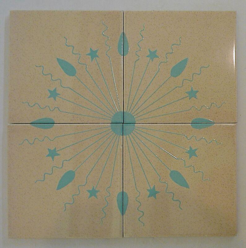 Mid-Century Gladding McBean Hermosa Tile Set