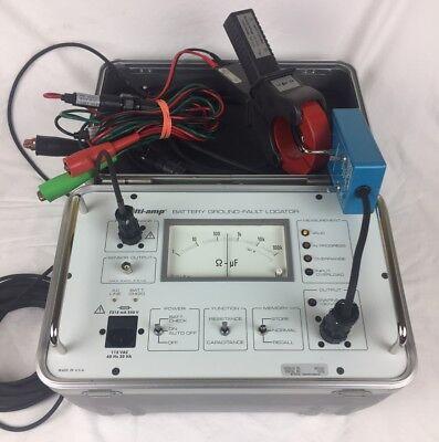 Avo Multi-amp Battery Ground Fault Locator 835140 Biddle Megger