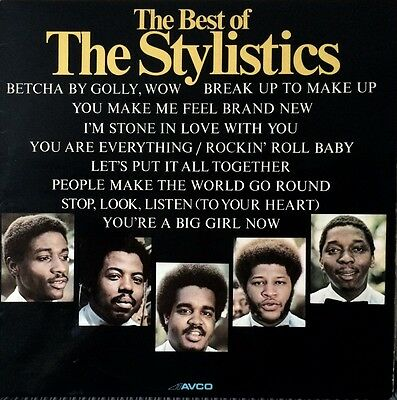 STYLISTICS - BEST OF  ( COMP LP - 1974 )