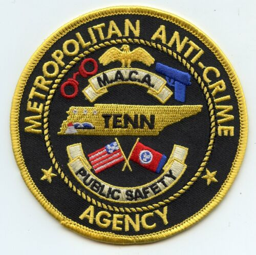 TENNESSEE TN METROPOLITAN ANTI CRIME AGENCY Memphis PUBLIC SAFETY POLICE PATCH