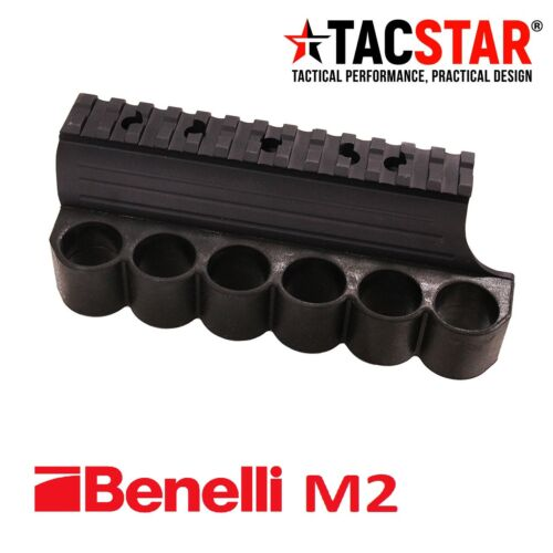 TacStar Rail Mount with Sidesaddle for Benelli M2 12 Gauge 1081021